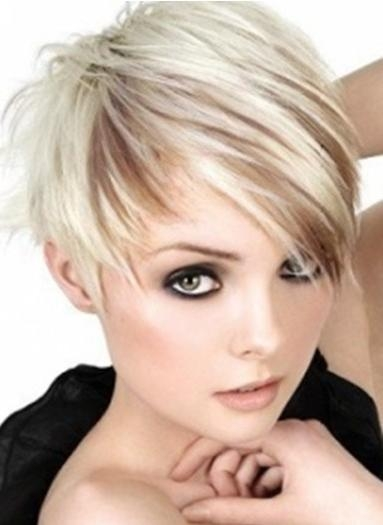 Most Recent Medium Pixie Haircuts Intended For Asymmetrical Pixie Haircut: Short Hair – Popular Haircuts (View 11 of 20)