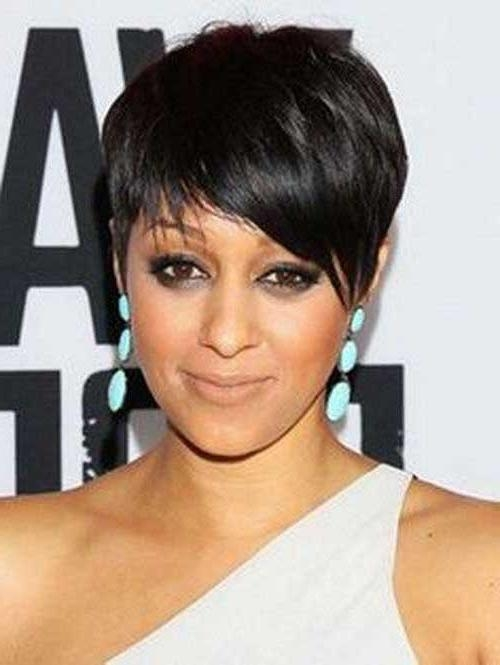 Most Recent Pixie Haircuts For Black Hair Regarding 20 Pixie Cut For Black Women (View 11 of 20)