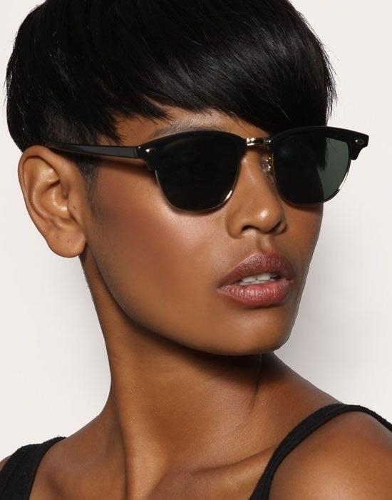 Most Recent Pixie Haircuts For Black Hair With Regard To 28 Trendy Black Women Hairstyles For Short Hair – Popular Haircuts (View 12 of 20)