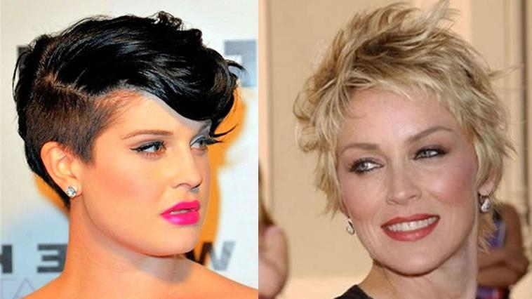 Most Recent Pixie Haircuts For Women Regarding 2018 Pixie Hairstyles And Haircuts For Women Over 40 To (View 15 of 20)
