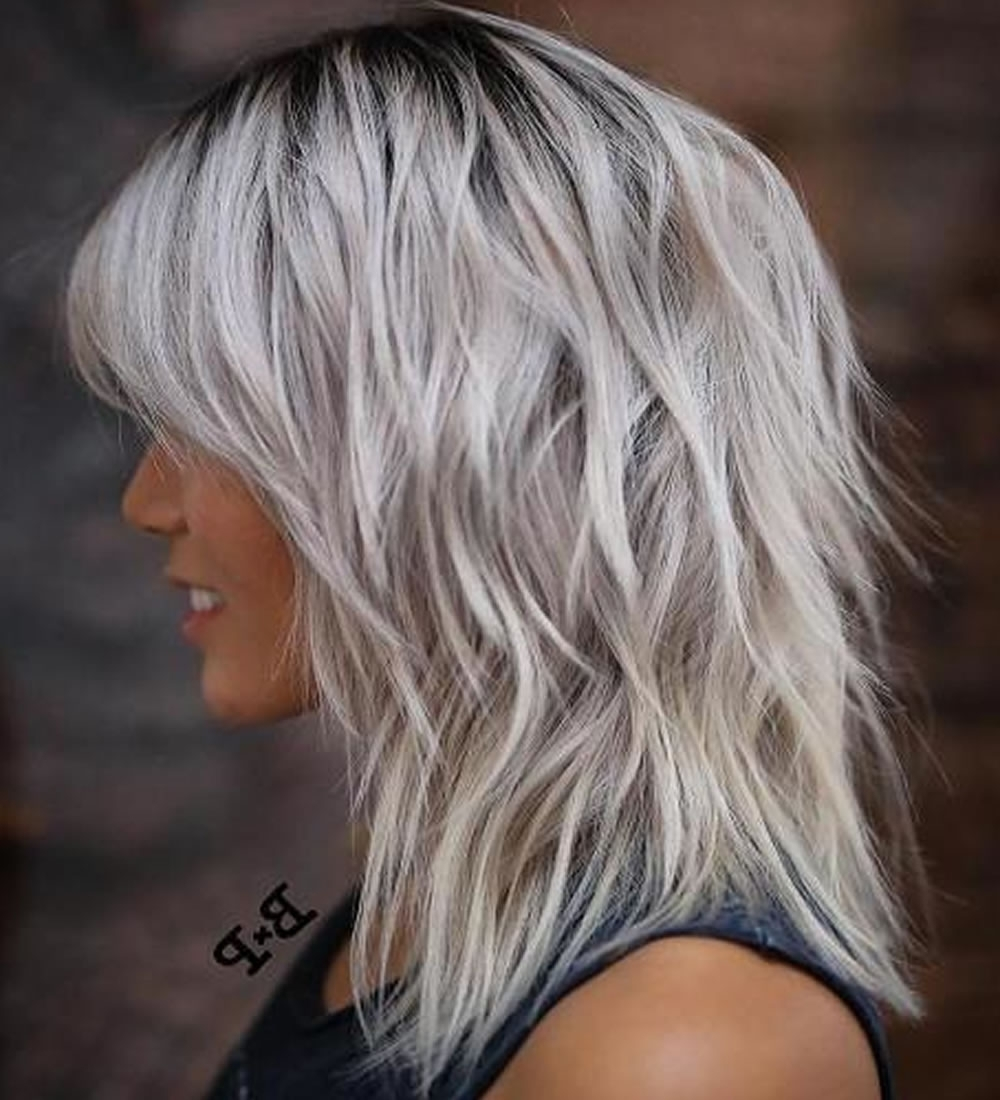 Most Recent Shaggy Hairstyles For Fine Hair Pertaining To 22 Cool Shag Hairstyles For Fine Hair 2018  (View 8 of 15)