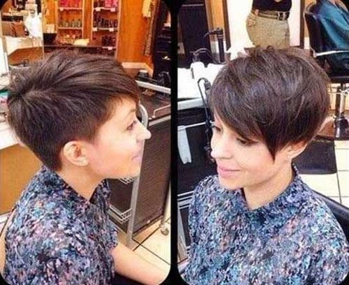 Most Recent Short Asymmetrical Pixie Haircuts Within 20+ Short Pixie Hair Cuts (View 14 of 20)