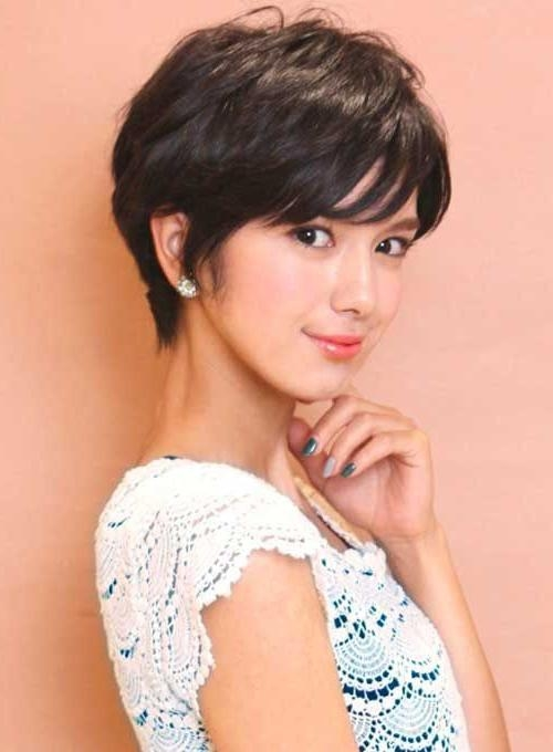 Most Recent Short Bangs Pixie Haircuts Within Best 25+ Asian Pixie Cut Ideas On Pinterest (View 7 of 20)