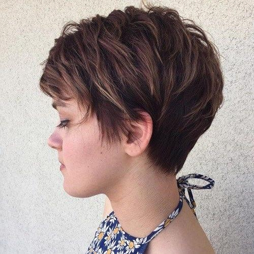 Most Recent Short Feathered Pixie Haircuts Intended For 60 Overwhelming Ideas For Short Choppy Haircuts (View 11 of 20)
