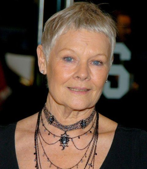 [%Most Recently Released Judi Dench Pixie Haircuts Inside Pindruidda On Judi Dench – Aktorka [Uk] | Pinterest | Judi Dench|Pindruidda On Judi Dench – Aktorka [Uk] | Pinterest | Judi Dench In Current Judi Dench Pixie Haircuts%] (View 1 of 20)