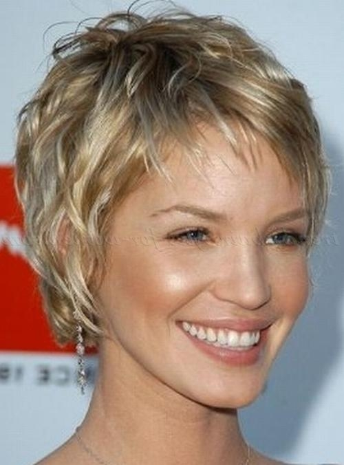 Most Recently Released Pixie Haircuts For Wavy Hair With Short Wavy Hairstyles – Wavy Pixie Hairstyle (View 10 of 20)