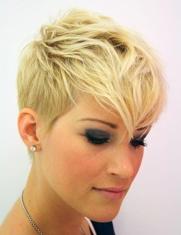 Most Recently Released Pixie Haircuts With Shaved Sides With Regard To Pixie Haircut With Shaved Sides Short Hairstyles Trends (View 12 of 20)