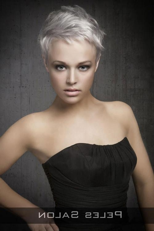 Most Recently Released Short Pixie Haircuts For Round Face Inside 31 Short Hairstyles For Round Faces You Can Rock! (View 16 of 20)