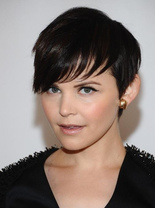 Most Recently Released Super Short Pixie Haircuts For Round Faces Regarding Super Short Pixie Haircuts For Round Faces (View 11 of 20)