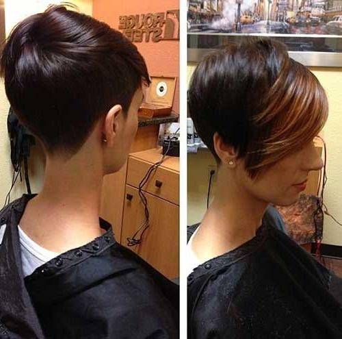 Most Throughout Fashionable Short Stacked Pixie Haircuts (View 10 of 20)