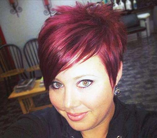 Most Throughout Most Recent Short Red Pixie Haircuts (View 17 of 20)