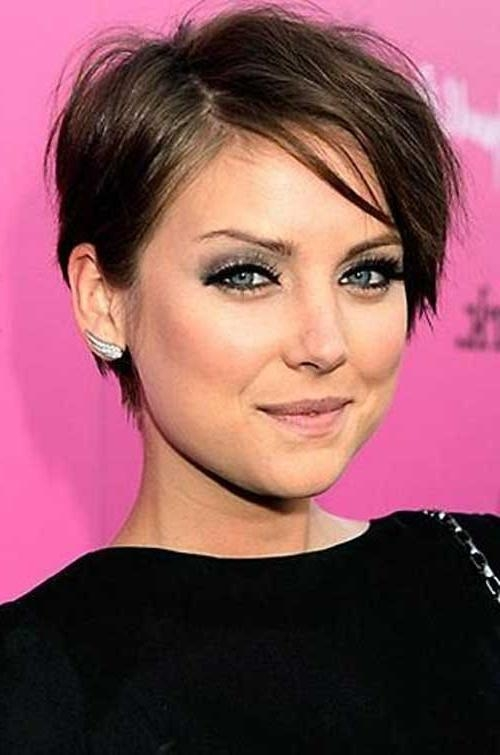 Featured Photo of Pixie Haircuts Styles For Thin Hair