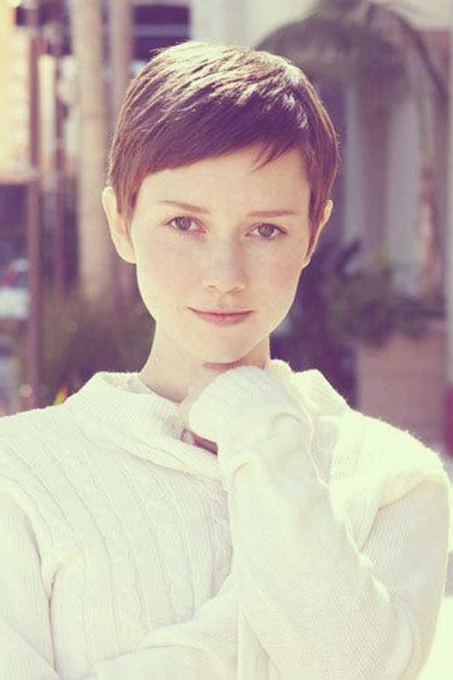 Most Throughout Widely Used Short Bangs Pixie Haircuts (View 8 of 20)