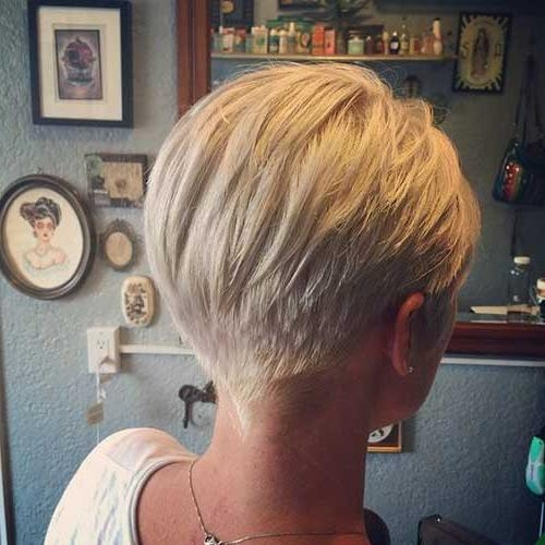 Most Up To Date Back Views Of Pixie Haircuts In Very Fashionable Pixie Cuts For Ladies (View 13 of 20)