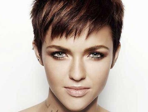 Most Up To Date Choppy Pixie Haircuts For Pixie Cuts With Bangs 2016 – Find Hairstyle (View 11 of 20)