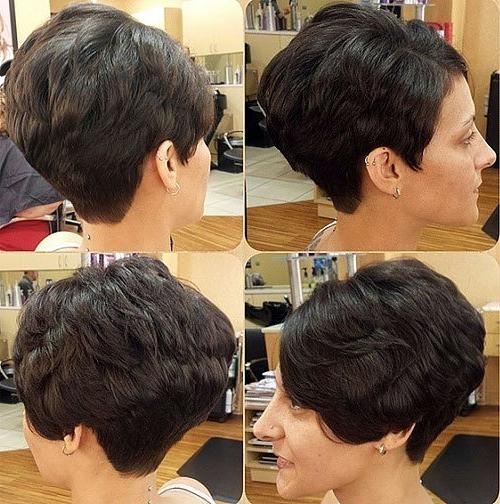 Most Up To Date Feathered Pixie Haircuts Intended For 20 Bold And Gorgeous Asymmetrical Pixie Cuts – Page 16 – Foliver Blog (View 16 of 20)