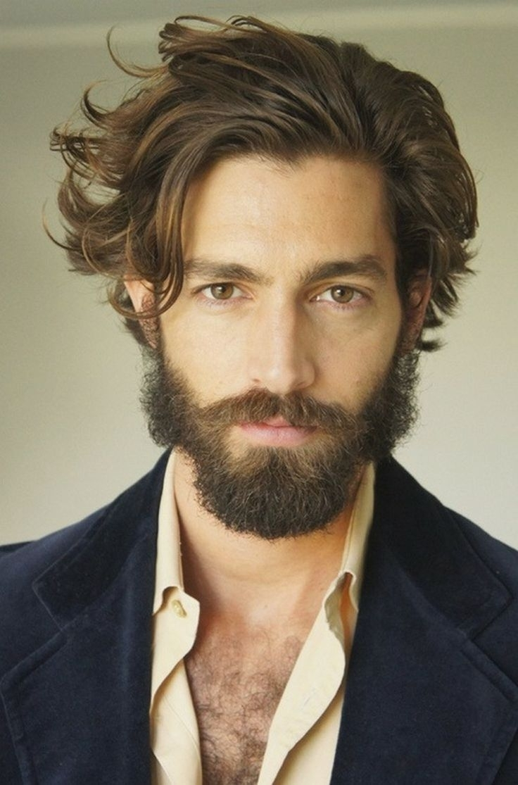 Most Up To Date Mens Shaggy Hairstyles Thick Hair Intended For Long Hair Styles For Men Short Haircuts For Men Good Haircuts For (View 7 of 15)