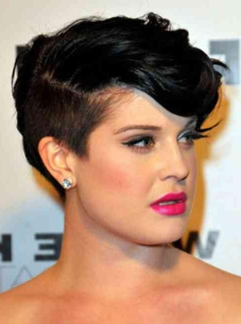 Most Up To Date Pixie Haircuts On Round Faces In Funky Modern Pixie Hairstyles For (View 18 of 20)