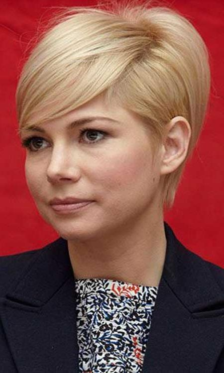 Photo Gallery Of Medium Length Pixie Haircuts Viewing 15 Of