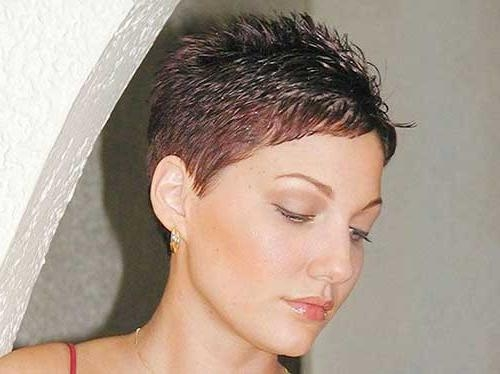 Most Within Famous Extremely Short Pixie Haircuts (View 12 of 20)