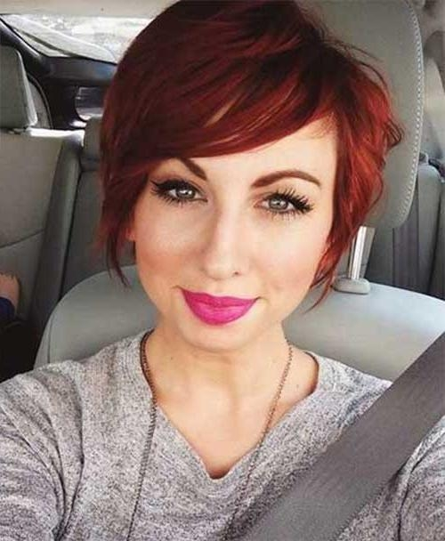 Most Within Recent Short Red Pixie Haircuts (View 6 of 20)