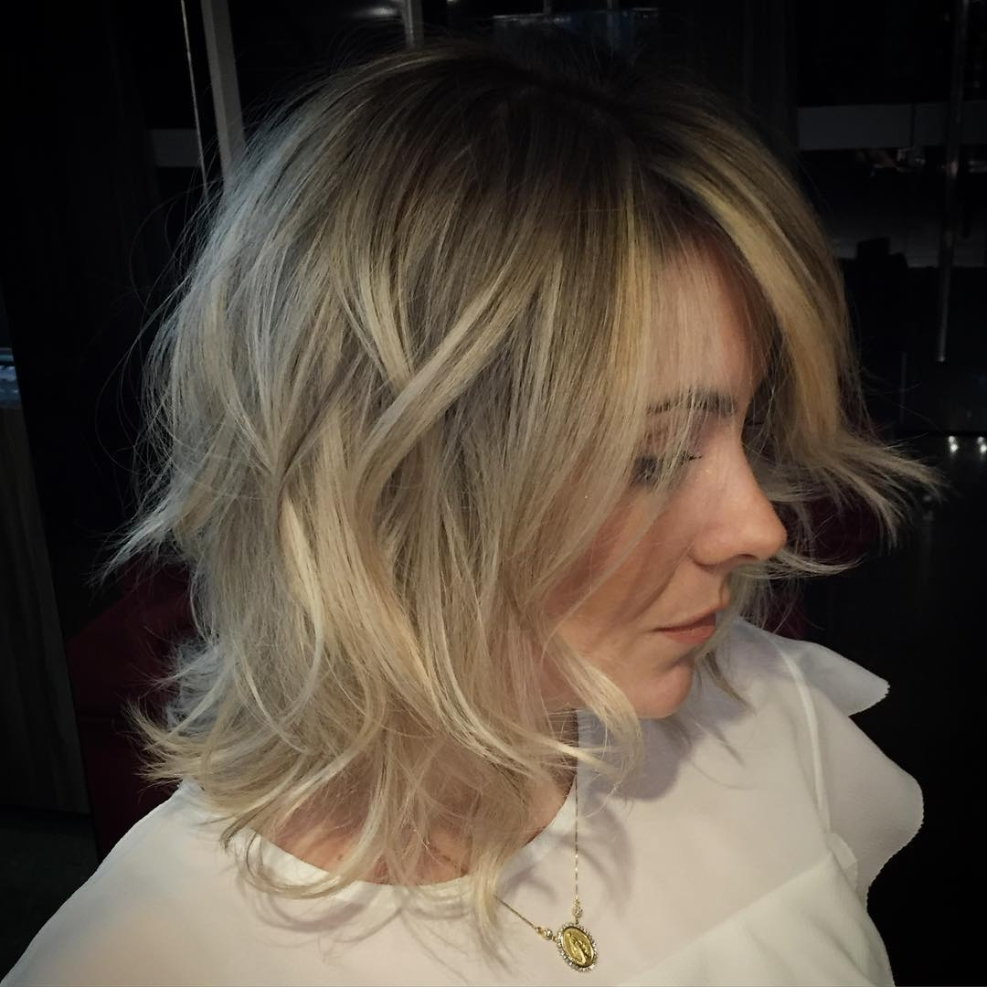 New Haircuts To Try For 2018 For Famous Medium Shaggy Bob Hairstyles (View 10 of 15)