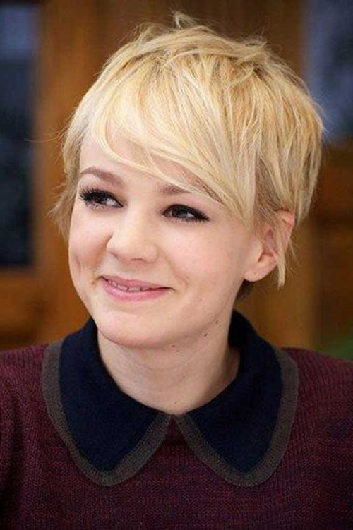 Newest Celebrities Pixie Haircuts Regarding 30 Celebrity Pixie Cuts 2015 – (View 12 of 20)