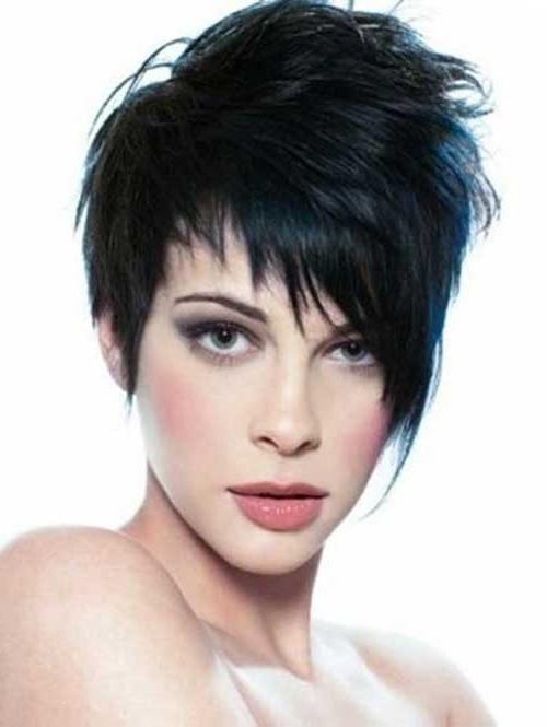 Newest Pixie Haircuts For Dark Hair Intended For 10 Pixie Haircuts For Thick Hair (View 6 of 20)