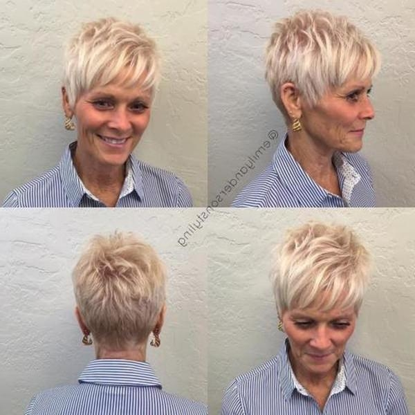 Newest Pixie Haircuts For Women Over 40 With Regard To 78 Gorgeous Hairstyles For Women Over  (View 10 of 20)