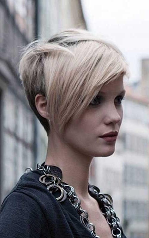Newest Pixie Haircuts With Long Sides Pertaining To 15 Cute Short Layered Haircuts (View 12 of 20)