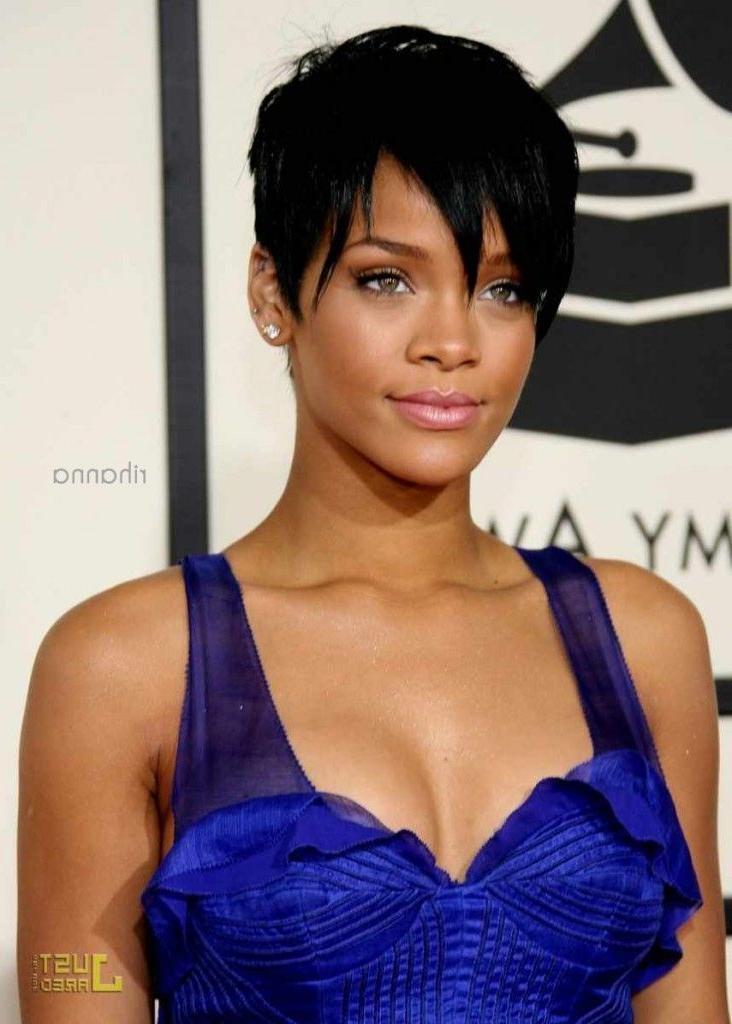 Newest Rihanna Pixie Haircuts Regarding Best 25+ Rihanna Pixie Cut Ideas On Pinterest (View 10 of 20)