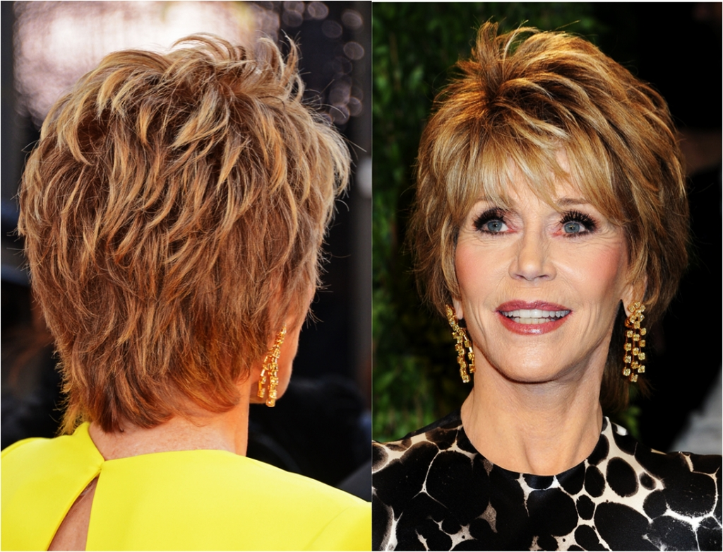 Newest Shaggy Short Hairstyles For Fine Hair Regarding Hairstyles For Women Over 50 With Fine Hair – Short Hairstyles For (View 4 of 15)