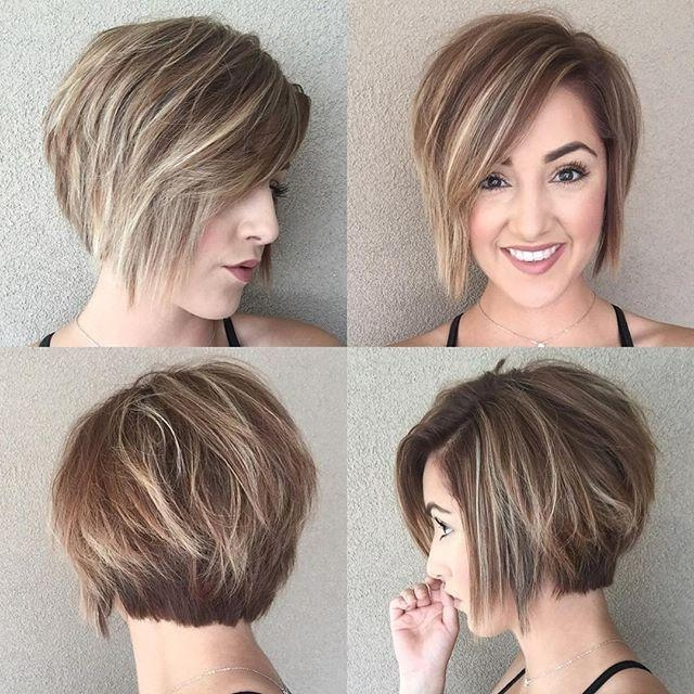 Newest Short Bob Pixie Haircuts Intended For 50 Amazing Daily Bob Hairstyles For 2018 – Short, Mob, Lob For (View 7 of 20)