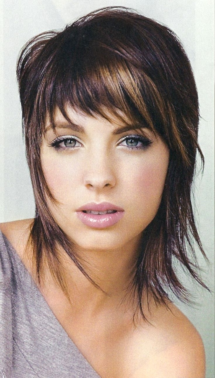 Newest Short Shaggy Choppy Hairstyles Regarding Medium Shag Haircuts For Women Best Shaj Images On Pinterest (View 10 of 15)