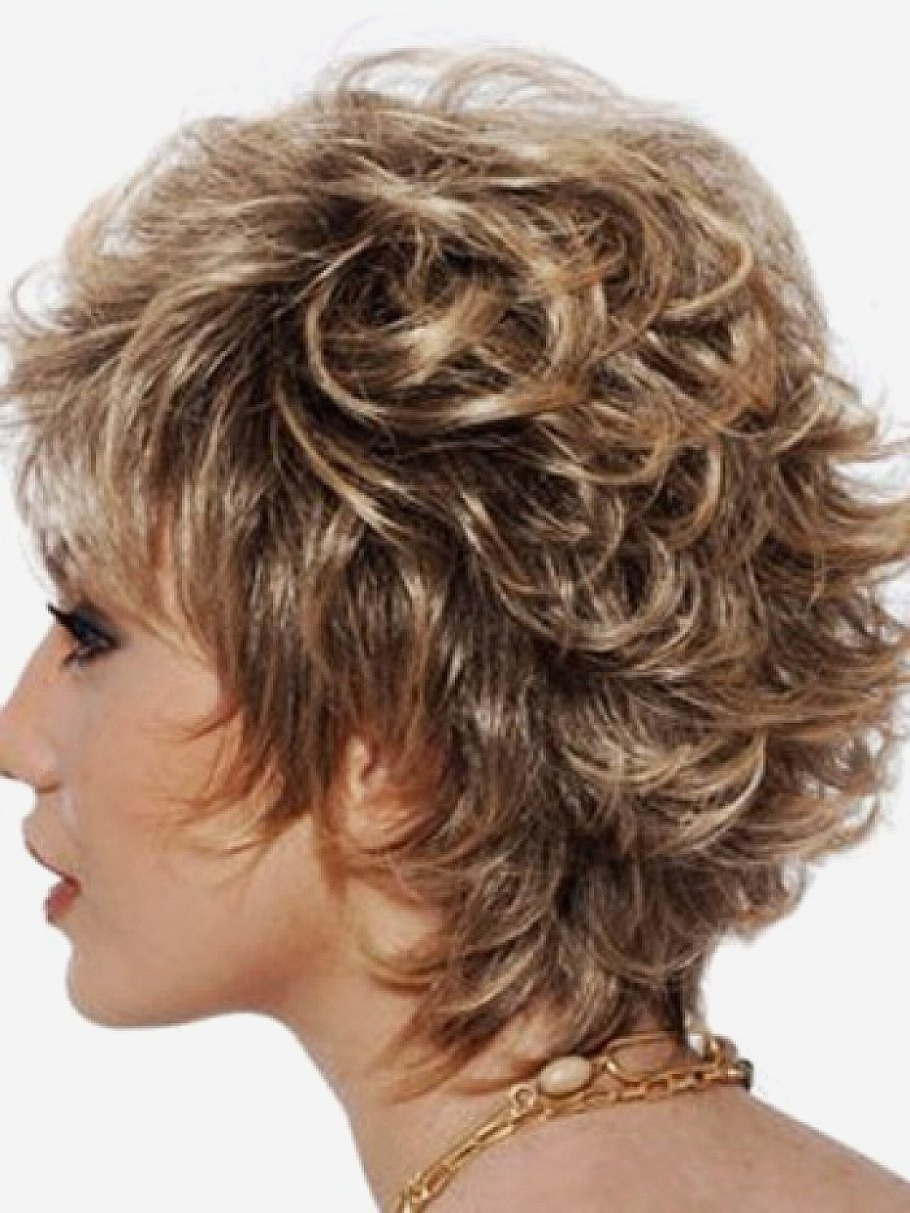 Featured Photo of Short Shaggy Curly Hairstyles