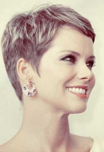Newest Women Pixie Haircuts Within 18 Beautiful Short Pixie Hairstyles: Short Hair Trends  (View 11 of 20)