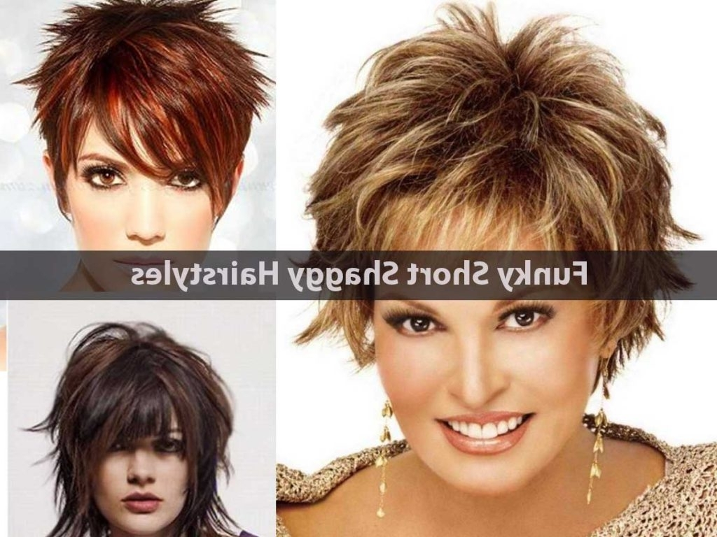 Pictures Of Short Choppy Haircuts Hairstyles Ideas Shag For Best With Famous Short Shaggy Choppy Hairstyles (View 11 of 15)