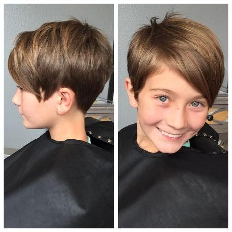 Featured Photo of Pixie Haircuts For Kids