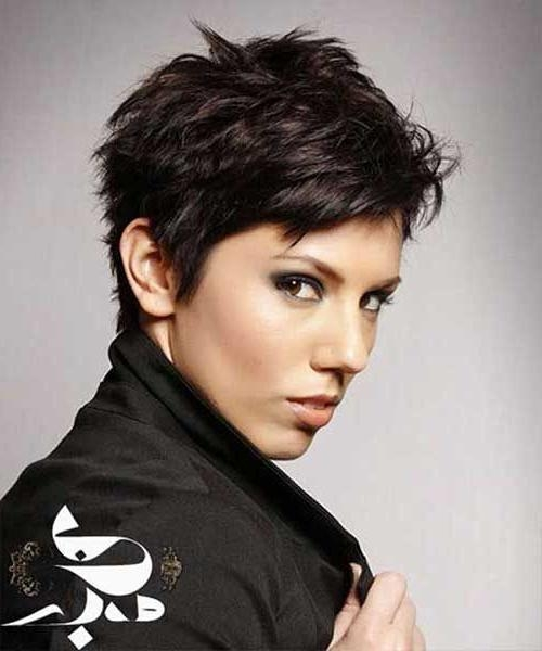 Featured Photo of Short Pixie Haircuts For Thick Hair