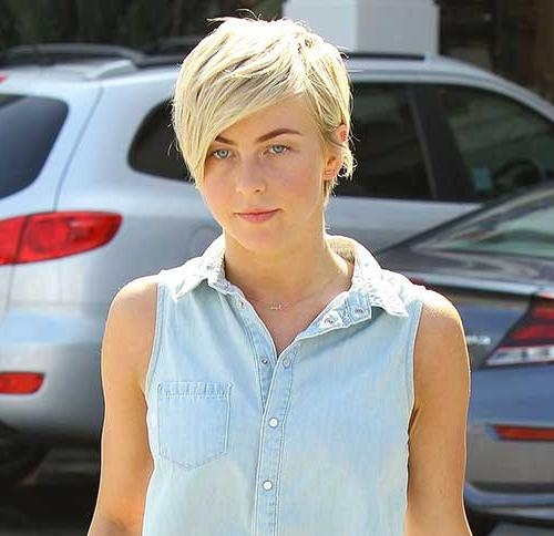 Featured Photo of Julianne Hough Pixie Haircuts
