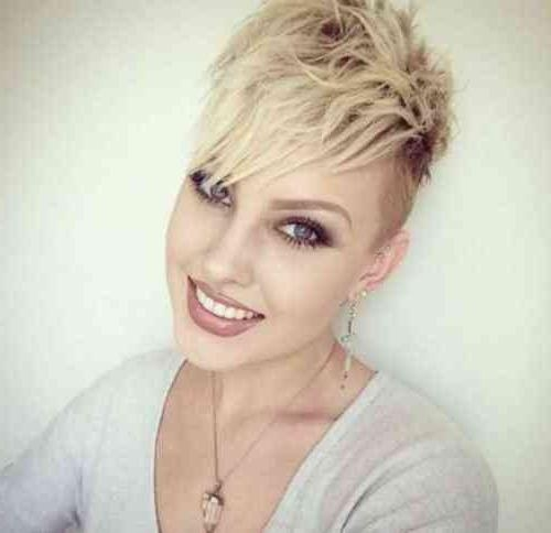 Pixie Cut 2015 Edgy Pixie Hairstyles (View 15 of 20)