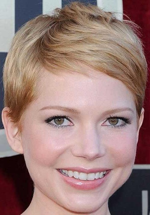 Pixie Cut 2015 In Most Recent Cute Pixie Haircuts For Round Faces (View 15 of 20)