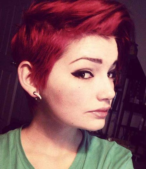 Pixie Cut 2015 Intended For 2018 Red Pixie Haircuts (View 6 of 20)