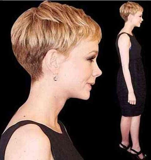 Pixie Cut 2015 Layered Pixie With Most Recently Released Textured Pixie Haircuts (View 17 of 20)