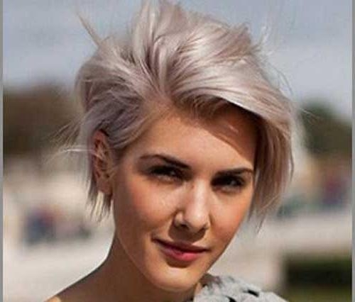 Pixie Cut 2015 Pertaining To 2018 Long Pixie Haircuts For Round Face (View 10 of 20)