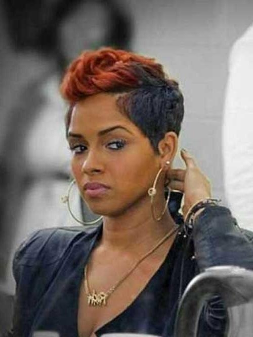 Pixie Cut 2015 Regarding Well Known Pixie Haircuts For Black Women (View 15 of 20)