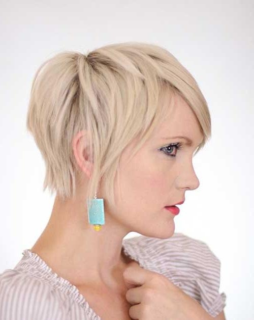 Pixie Cut 2015 With Recent Blonde Pixie Haircuts (View 16 of 20)