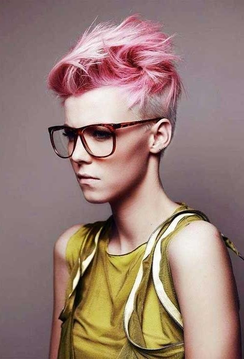 Pixie Cut 2015 Within Widely Used Pink Short Pixie Haircuts (View 14 of 20)