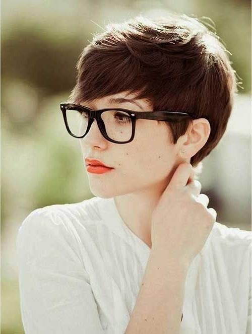 Pixie Cut For Throughout 2018 Pixie Haircuts For Chubby Faces (View 11 of 20)