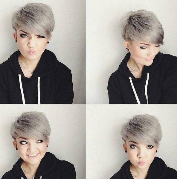 Pixie Cut Intended For Best And Newest Pixie Haircuts For Chubby Face (View 4 of 20)